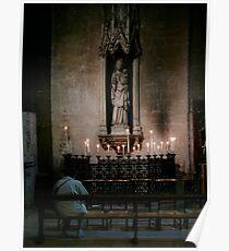 St Germain de pres(Paris) inside church Poster
