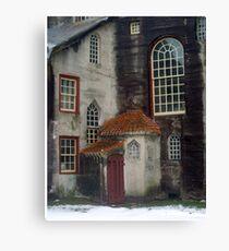 Enchanted Castle's Back Door Canvas Print