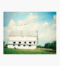 mead barn Photographic Print