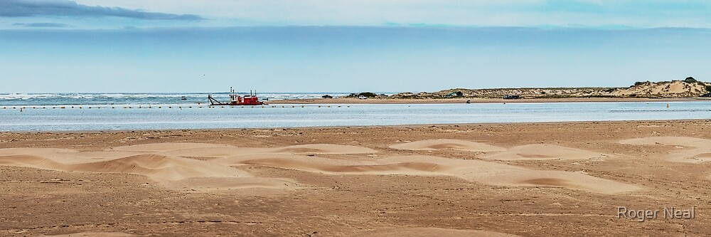 Murray River mouth by Roger Neal