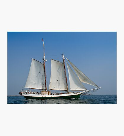 Schooner Liberty Clipper off Eastern Point Photographic Print