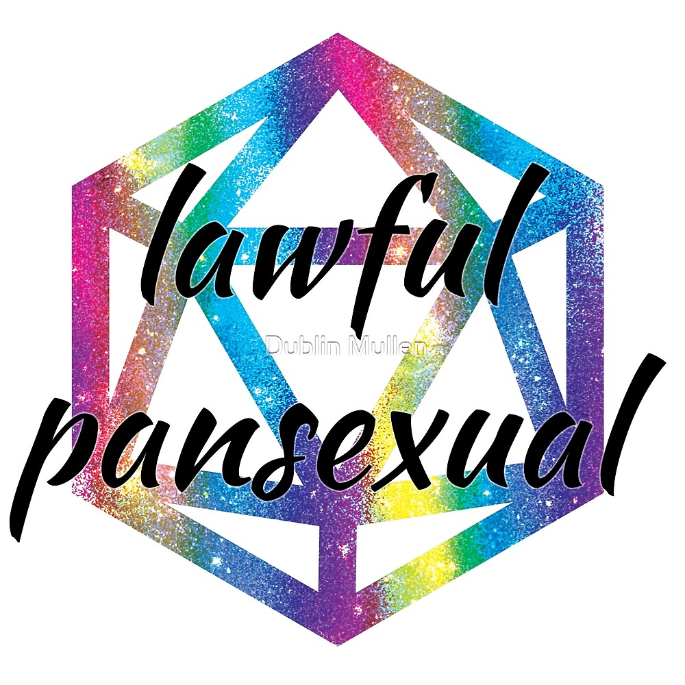 Lawful Pansexual by Dublin Mullen