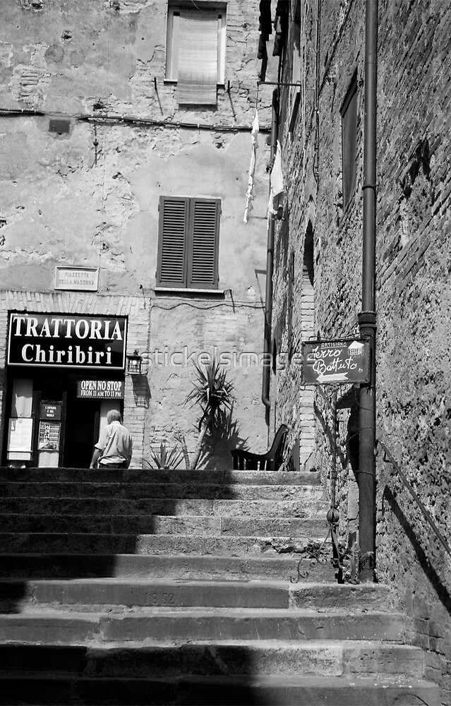 to the trattoria by stickelsimages