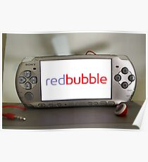 REDBUBBLE ON PSP Poster