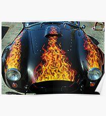 Flamin' Hot Cobra Poster