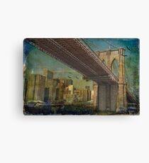 Brooklyn Bridge Leinwanddruck
