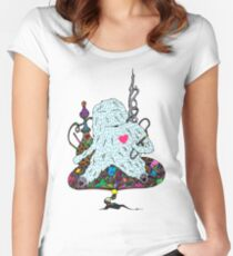 Hookah Monster Women's Fitted Scoop T-Shirt