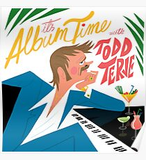 Todd Terje Cover Drawing  Poster