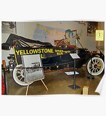 Yellowstone Speed Run 1915 Poster