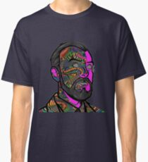 Psychedelic krieger Classic T-Shirt