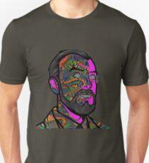 Psychedelic krieger Unisex T-Shirt
