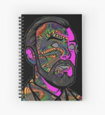 Psychedelic krieger Spiral Notebook