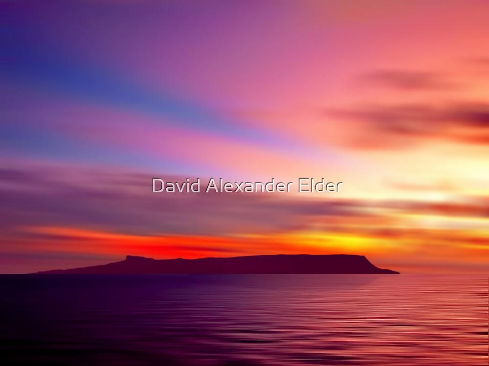 Eigg Evening by David Alexander Elder