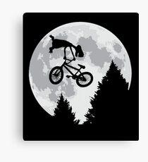 Cool E.T. Canvas Print
