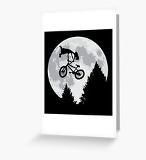 Cool E.T. Greeting Card
