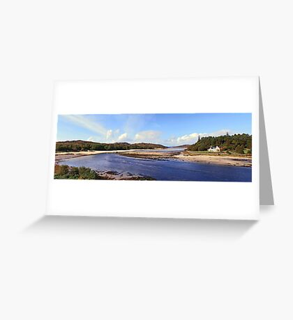 The House on the Right Bank. Greeting Card