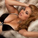 Black Lingerie and Fur by Swede