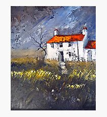 Moorland Cottage Photographic Print
