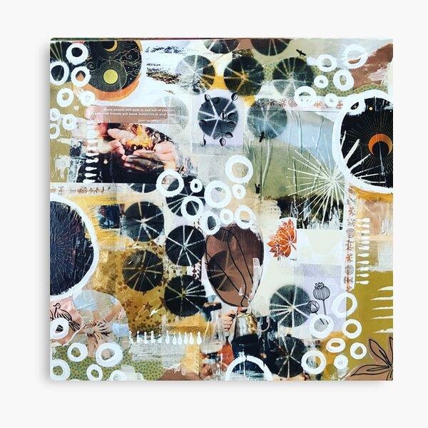 Circles of friends I Canvas Print