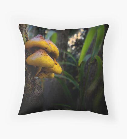 Me Be Mushroom Throw Pillow