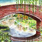 Willow Bridge - Oxford Canal by mleboeuf