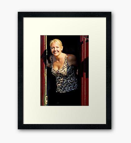 Scarborough Belle Framed Print
