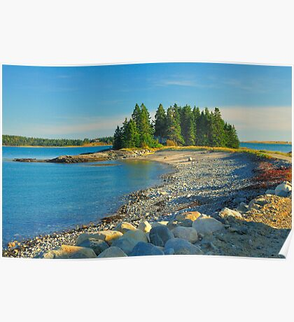 Point of Maine, Starboard Peninsula, Maine Poster