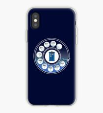 Call the Doctor iPhone Case