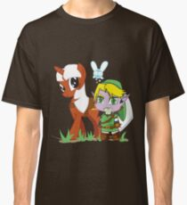 The Legend of Zeldestia (no text version) Classic T-Shirt
