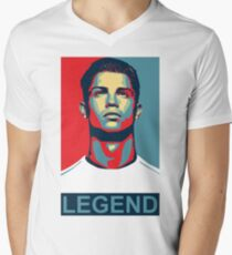 Ronaldo Men's V-Neck T-Shirt