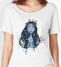 Watercolor Corpse Bride Women's Relaxed Fit T-Shirt