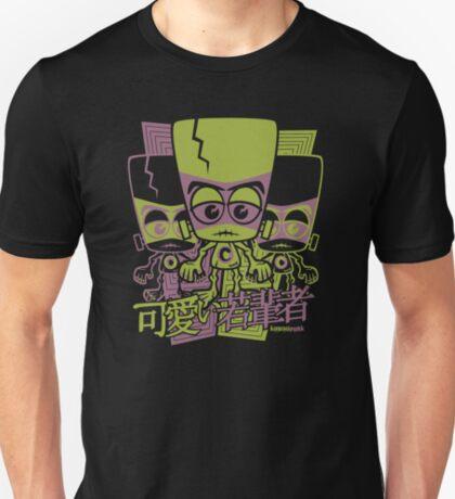 Creature Mascot Stencil T-Shirt
