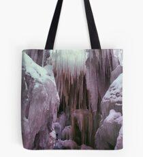 Ice Castle Tote Bag