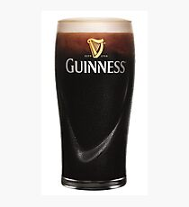 Guinness Beer Photographic Print