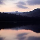 First blush Over Loughrigg Fell by SteveMG