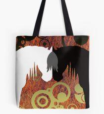 Country Yin & Yang Horses Tote Bag