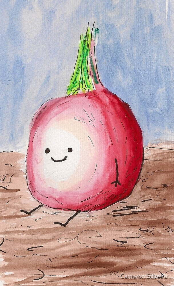 Happy Lil Onion by Cameron Silveira