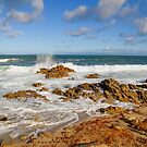 Rolling Tide - Pacific Grove, CA by JimPavelle