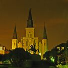 St. Louis Cathedral and Jackson Square - New Orleans by michael6076