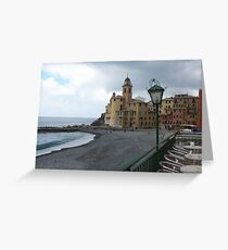 Camogli - Liguria -Italy -  europa -7000 VISUAL. 2015--- featured in Italia 500+-VETRINA RB EXPLORE 6 MARZO 2012 --- Greeting Card