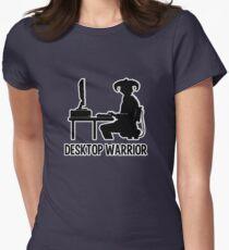 Desktop Warrior Women's Fitted T-Shirt