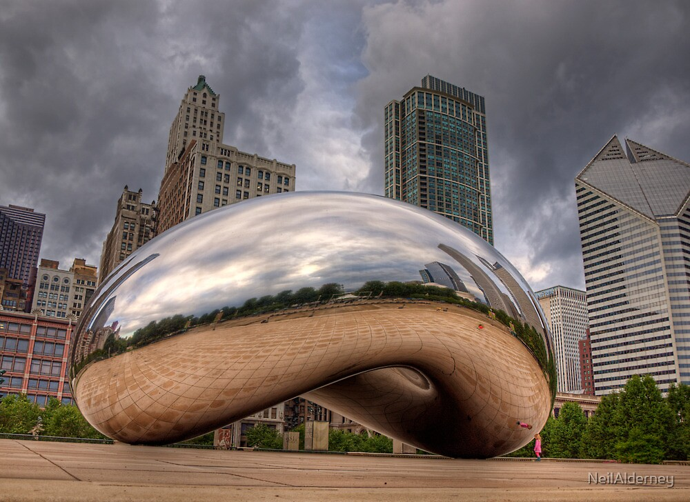 The Bean - Chicago by NeilAlderney