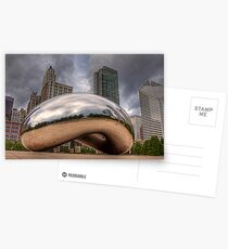 The Bean - Chicago Postcards