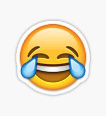 Cry Laughing Emoji Sticker Sticker