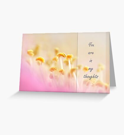 The heart of the matter Greeting Card