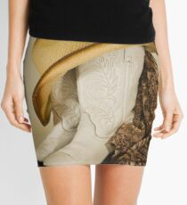 Cowgirl Style Mini Skirt