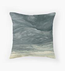 Beautiful storm Throw Pillow