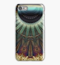 Turquoise Feather Lei iPhone Case/Skin