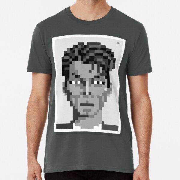 His ashes — Mono Premium T-Shirt