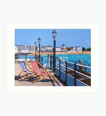Pier days and Matinees Art Print